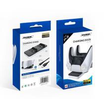 Base Dupla Para Carregar Compatível Com o Controle DualSense  PS5 - DOBE -