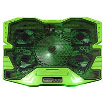 """Base Gamer para Nobebook até 17"""" com 5 Coolers Painel LCD Superfície em Metal Zelda AC292 Warrior -"""