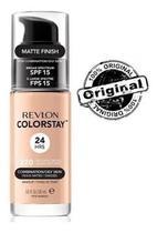 Base líquida colorstay 220 natural beige revlon - matte finish -
