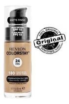 Base líquida colorstay mista / oleosa fps15 revlon - 180 sand beige -