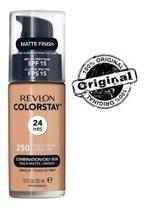 Base líquida colorstay mista / oleosa fps15 revlon - 250 fresh beige -