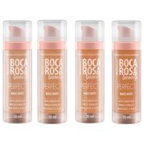 Base liquida hd boca rosa beauty by payot -