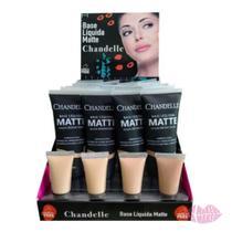 Base Líquida Matte box com 24 unidades - Chandelle -