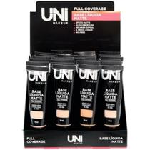 base líquida matte full coverage UNI MAKEUP -