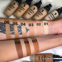 Base liquida matte  suelen makeup  cor 06 -