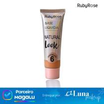 Base líquida Natural Look Chocolate 6 - Ruby Rose -