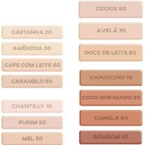 Base liquida ruby rose feels cor doce de leite 80 -
