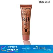 Base Líquida Soft Matte Chocolate 9 -  Ruby Rose -