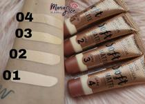 Base matte  Nude Soft Ruby Rose -