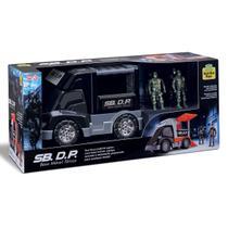 Base Movel Tatica Policia- Samba Toys -