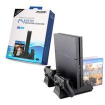 Base Multifuncional com Cooler e Carregador de Controle p/ PS4/Slim/Pro TP4-882 - Dobe -
