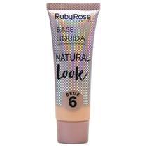 Base Natural Look Bege 6- RUBY ROSE -