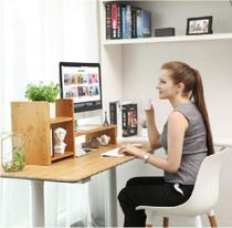 Base Notebook Monitor TV Apoio Mesa Em Madeira Maciça - Piovani Casadecoração