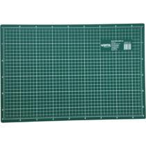 Base Para Corte A2 59x42cm Verde Kit Unidade -