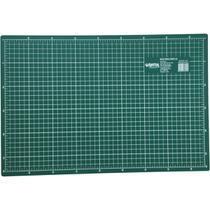 Base para corte a2 59x42cm verde unidade - Kit