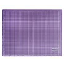Base para Corte de Tecidos Patchwork e Scrapbook Frente e Verso 90X60 Roxa - Westpress
