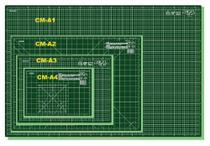 """Base para Corte Multiuso 60x43cm CM-A2 24""""x17"""" - Olfa -"""