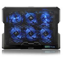 Base Para Notebook Até 17 Pol USB Com Cooler AC282 Multilaser -