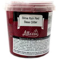 Base para Slime - 400 Gramas - Slime Rich Red - Base Glitter - Reval - Reval Papelaria