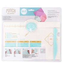 Base Punch Board com Furador e Vinco para Criação de Mini Envelopes We R - Rock space