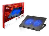 Base Refrigerada para Notebook com Cooler Duplo C3 Tech até 15,6 Polegadas - C3TECH