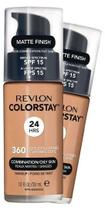 Base Revlon ColorStay 24 H Pele Mista à Oleosa Golden Caramel FPS 15 -