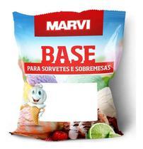 Base Sabor Milho Verde Para Sorvete E Sobremesas Marvi 1kg -