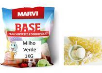 Base Sorvete Marvi Milho Verde 1kg -