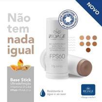 Base Stick Fps60 Ultradefinição Resistente À Água Bioage 17g -