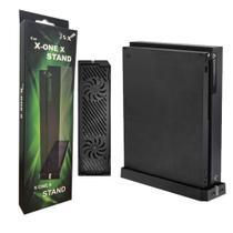Base Suporte Vertical + Cooler Com 2 Fan + Hub Com 2 Usb Para Console Do Xbox One X SND-403 - Jsx -