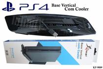 Base Vertical Com Cooler Para Ps4 Slim - Knup