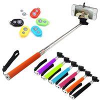 Bastao para Selfie para Fotos e Vídeos com Controle Bluetooth CORES SORTIDAS - Lx