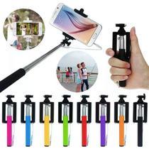 Bastão Pau De Selfie Monopod Com Controle Bluetooth CORES SORTIDAS - Lx