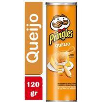 Batata Chips Pringles Sabor Queijo Tubo 3/120g - Bauducco -