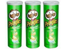 Batata Pringles Creme e Cebola 120g - 3 Unidades