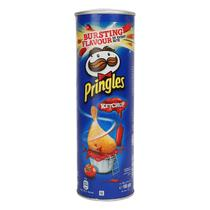 Batata Pringles Ketchup 165g Importada Belgica -