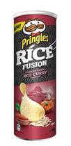 Batata pringles ríce fusion - malaysuan red curry 160g -