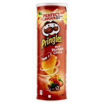 Batata pringles - sabor hot paprika chilli 165g -