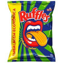 Batata Ruffles Cebola e Salsa 167g - Elma Chips -