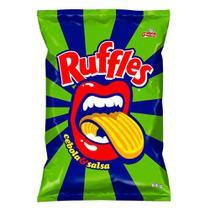 Batata Ruffles Elma Chips Sabor Cebola e Salsa 84g -