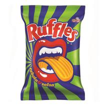 Batata Ruffles Elma Chips Sabor Cebola e Salsa 96g -
