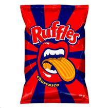 Batata Ruffles Elma Chips Sabor Churrasco 84g -