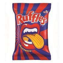 Batata Ruffles Elma Chips Sabor Churrasco 96g -