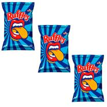 Batata Ruffles Elma Chips Sabor Original 57g - Combo 03 Unidades -