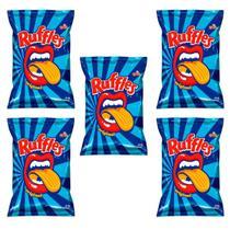 Batata Ruffles Elma Chips Sabor Original 57g - Kit 05 Unidades -