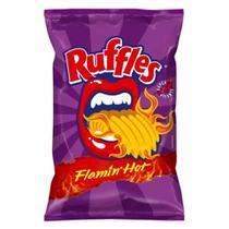 Batata Ruffles Picante Flamin Hot 84g - Elma Chips -