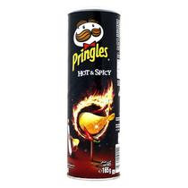Batatas pringles 165gr hot & spicy -