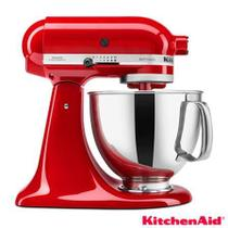 Batedeira Kitchenaid 4,8l Stand Mixer Artisan Vermelha -
