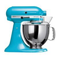 Batedeira KitchenAid Stand Mixer Azul com 10 Velocidades e 03 Batedores KEA33CW 127V -