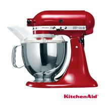 Batedeira KitchenAid Stand Mixer Vermelha com 10 Velocidades e 03 Batedores - KEA33CV - 110V -